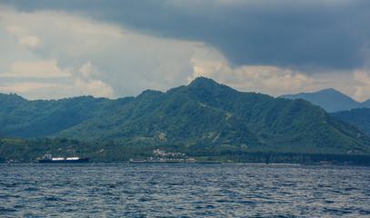 Seascape of Lombok Island, Indonesia