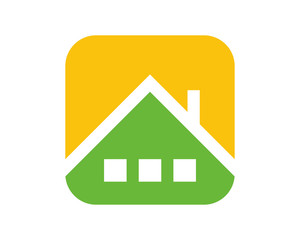 roof house housing home residence residential residency real estate image vector icon