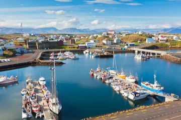 Stykkisholmur, the western part of Iceland