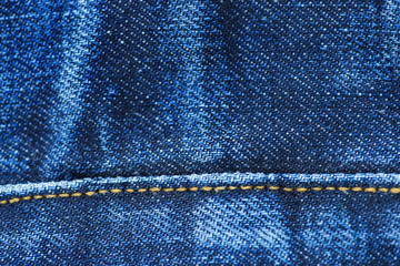 Closeup of Denim