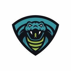 Animal Head - cobra - vector logo/icon illustration mascot
