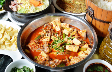 China Yunnan traditional cuisine - hot and sour fish