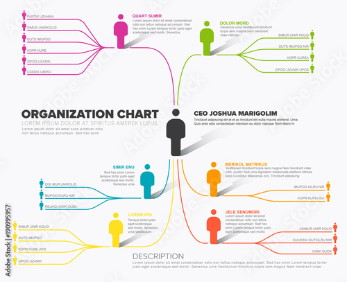 Minimalist company organization hierarchy schema diagram template minimalist company organization hierarchy schema diagram template ccuart Image collections