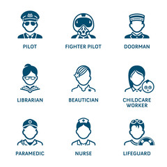 Profession icons || Set IV
