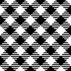 Lumberjack. Black, white, striped cell