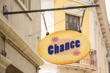 Schild 278 - Chance