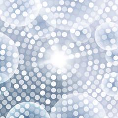 Abstract Circular Blue Gray Background. Vector illustration