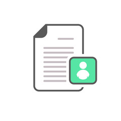 Avatar document file page picture profile user icon