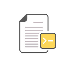 Command document file page icon