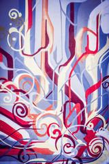 Arrière plan couleurs vives abstrait