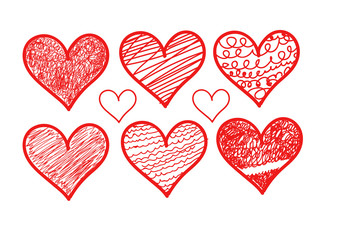Valentines heart.Vector illustration for your design