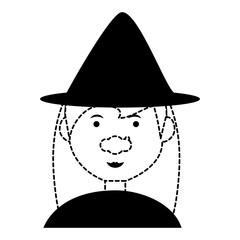 cartoon witch icon image