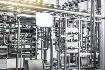 Pipelines from stainless steel, a system for pumping liquids or