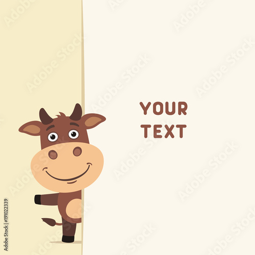 Funny cow looks out over the fields to text template with cow for funny cow looks out over the fields to text template with cow for cards m4hsunfo