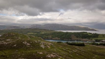 Scottish Highlands countryside; Bens, Glens and Lochs