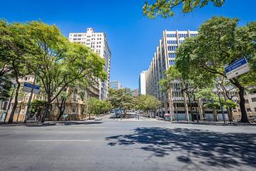 Belo Horizonte, Minas Gerais, Brazil. View of Municipal Park