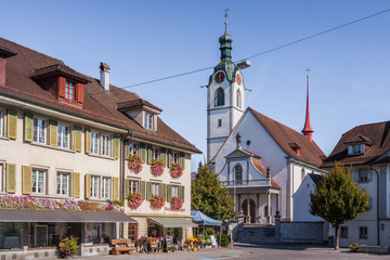 Beromünster, Sursee, Lucerne, Switzerland