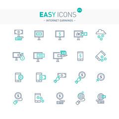 Easy icons 41e Internet earnings