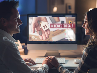 Couple buying a house together