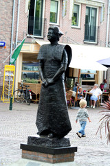 Spakenburg during the yearly event called Spakenburgse Day's
