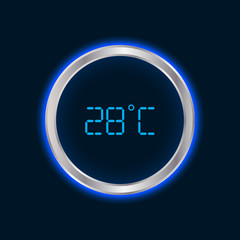 special modern wall digital thermometer