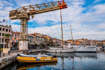 Dans le port de La Ciotat