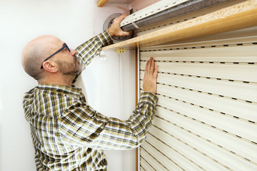 roller shutter and handyman for repair and restore
