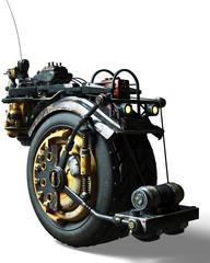 one wheel motor drive
