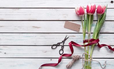 Fototapete - Gift flowers
