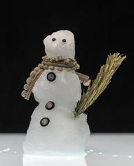 Schmelzender Schneemann