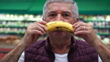 Unhappy Customer With Banana