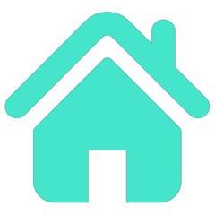 home silhouette vector icon