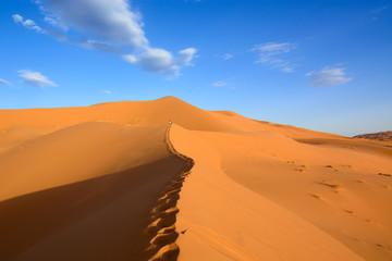 Wydmy Erg Chebbi, Sahara, Maroko
