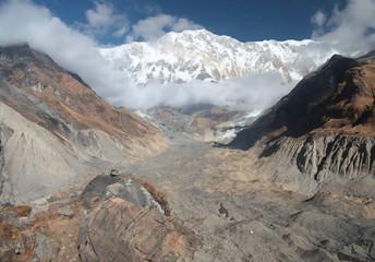 Annapurna basic camp. Nepal. Himalaya.