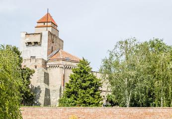 Belgrade, Serbia - July 29, 2014: Among the walls of the Kalemegdan fortress