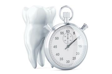 Speed Dentistry concept, 3D rendering