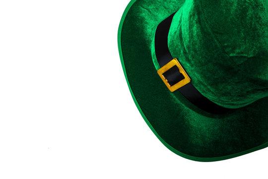 St. Patrick's day costume hat leprechaun holiday green kilt gift irish tie heart brown March