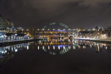 The Tyne and Tyne Bridge, Newcastle Upon Tyne