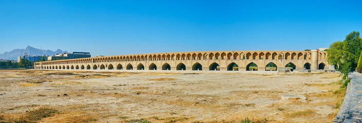 The bridges of Isfahan, Iran
