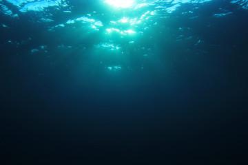 Underwater blue background