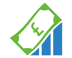 euro chart money currency price image vector icon logo symbol