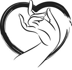 budha hand icon