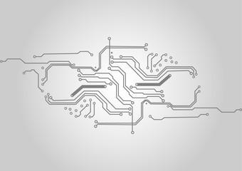 vector circuit technology  background, illustration vector design