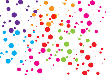 abstract splatter color background design. illustration vector design