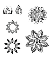 Ornaments Flowers 6