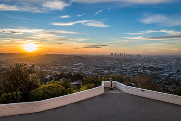 Sunrise from the Griffith Observatory