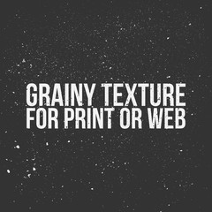 Grainy Texture for Print or Web