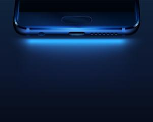 Smartphone bottom.