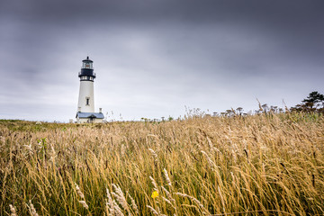 Storm over the Yaquina Head Lighthouse