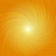 Radial Twist Lines Graphic Effects Background Orange